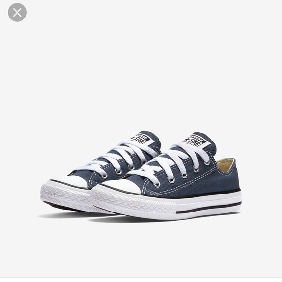 3ab412965a7813 Converse Other - Navy blue low top converse worn once with socks